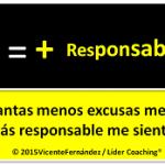 excusas y responsabilidad